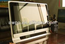 Awpc 21.5 ''intel atom d2500 de doble núcleo de 1.86 ghz all in one pc tv escritorios