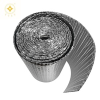 High R Value Fireproof Reflective Double Foil Bubble Insulation