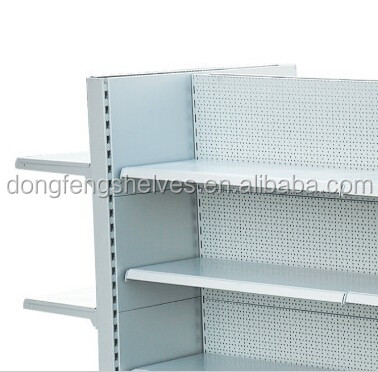 2017 European style metal grocery storage shelf for sale