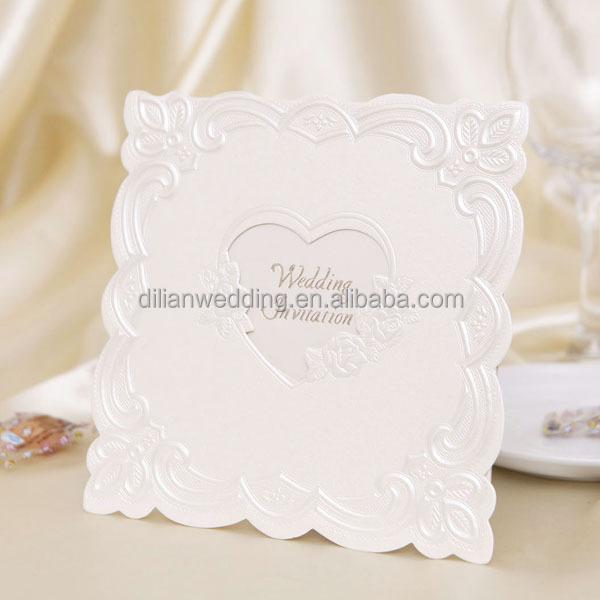 Maroon Color Handmade Wedding Invitation Card,Wedding Card ...