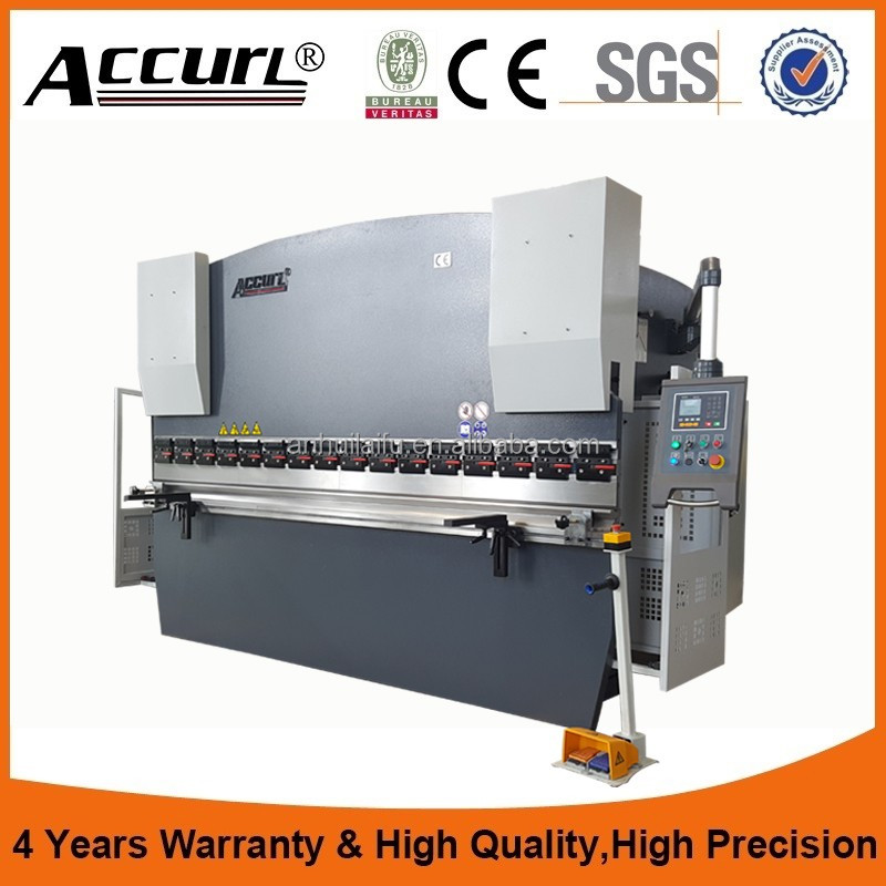 China Manufacturer best popular WC67YK 63ton 2500mm Hydraulic colly press brake
