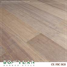 BY Easy maintenance 100% Solid ivory white color bamboo flooring