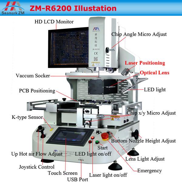 Automatic Laser Bga Reballing Machine Smd Soldering Machine For Asus  Motherboard Xbox Controller Bga Chip Reballing Replacement - Buy Bga