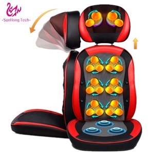 Vibration back massage cushion for home, car and office in factory price