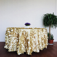 luxury factory wedding table linens for sale