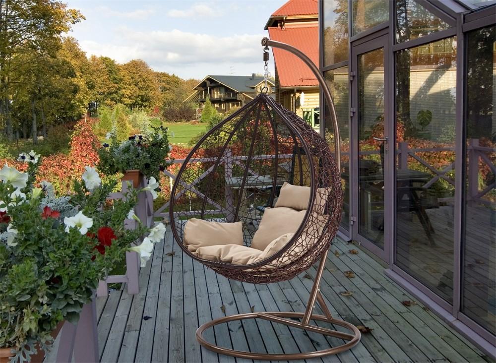 Dondolo Da Giardino A Forma Di Uovo : Outsunny dondolo letto da giardino posti schienale reclinabile
