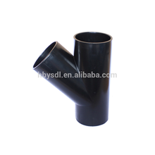 API 5L GR B A234 WPB carbon steel y pipe fitting tube tee