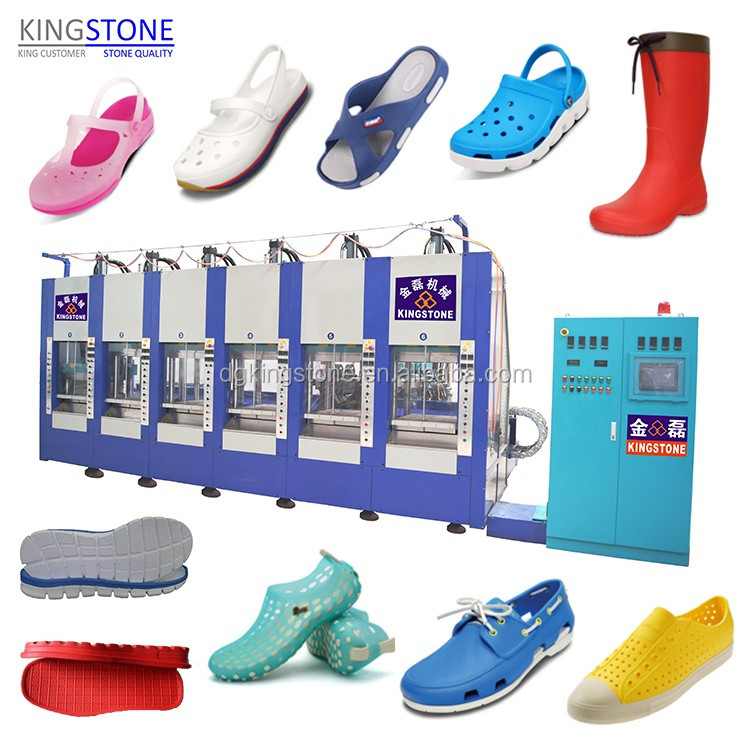 Kingstone EVA Shoes Soles Making Machine Machinery Manufacturer JL-198