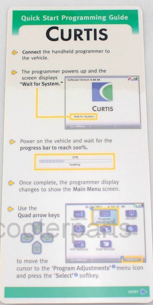 Curtis Manufacturer Handheld Programmer OEM Access 1313-4401 with 4-pin  Molex cable and USB cable for All Curtis controller