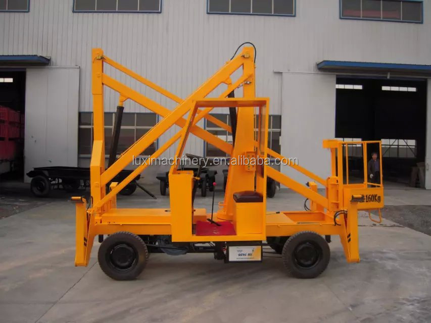boom lift for street light fixing