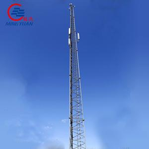 mobile bts easily installed lattice tower