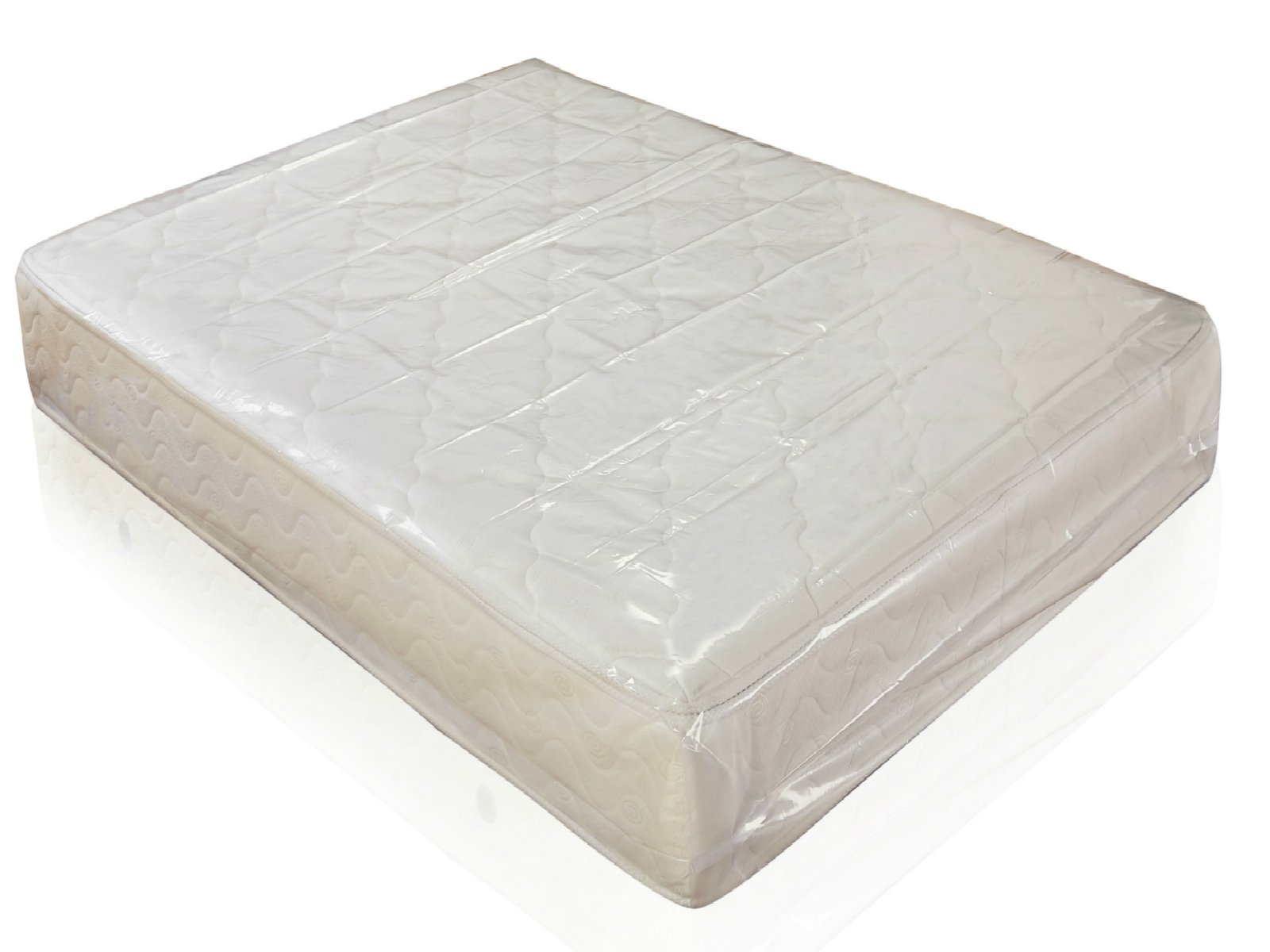 EWEI'S Homewares Mattress Bag for QUEEN Size 4 mil Thick, Heavy Duty Mattress Cover, Fits Standard, Extra-Long, Pillow-top variation, for Storage / Moving