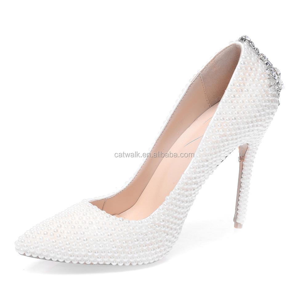 Designer White Heels