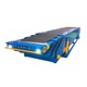 4 section fixed container loading machine telescopic conveyor with lifting system