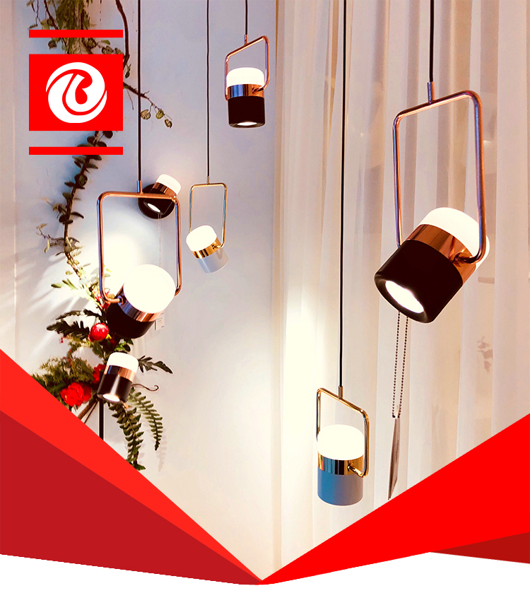 Hohe Qualität Esszimmer Aluminium Rose Gold Chinesischen Kronleuchter  Anhänger Lampe