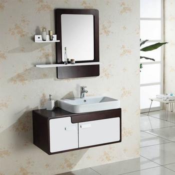 . Wall hung tall 900mm length washbasin design wood bathroom mirror cabinet   View washbasin cabinet design  HANSE Product Details from Foshan Hanse