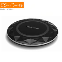 Fashion new 2016 universal wireless charger for samsung 10w 9v 1.67a 5v 2a fast quick qi