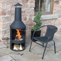 Extra Large Garden Chimenea Fire Pit Patio Wood Burner Best