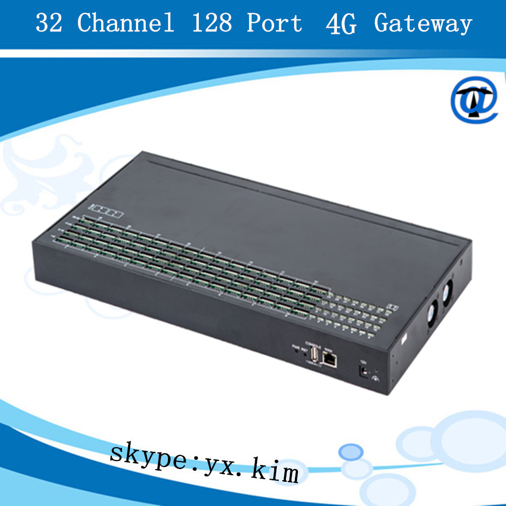 Free registration 32/128 goip gsm and 4g gateway with relay proxy server