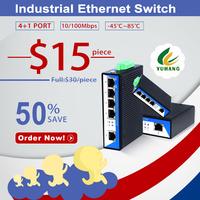 China manufacturer provide Rack-Mount Gigabit PoE Ethernet Switch with 5-ports