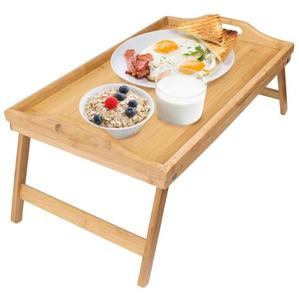 Premium Bamboo Foldable Breakfast Tray Bed