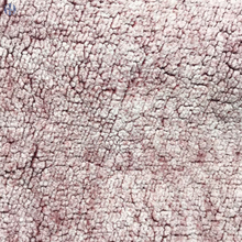 New Arrival 100% Polyester sherpa fleece fabric back printed wholesale for jackets,blanket