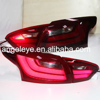 2012-2014 yearFor FORD For Focus 3 Sedan LED Strip Rear Light For BMW Style