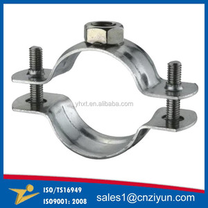 OEM Customized Metal pole clamp / pipe clamp / tube clamp