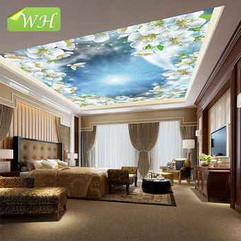 Wallpapers in china wall mural 3d wallpaper decoration home ceiling mural  roof decorative mural design