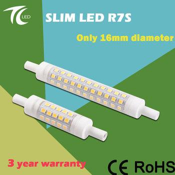 factory sales 118mm 78mm dimmbar lampada slim led r7s buy slim led r7s lampada r7s dimmbar led. Black Bedroom Furniture Sets. Home Design Ideas