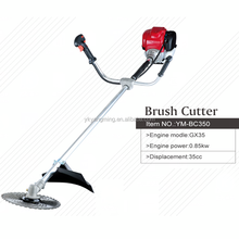 35cc 2/4 stroke gasoline/petrol cordless grass weed trimmer brush cutter