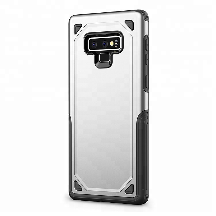 Dual layer shockproof sturdy tpu and pc phone <strong>case</strong> and accessories for Samsung Note 9
