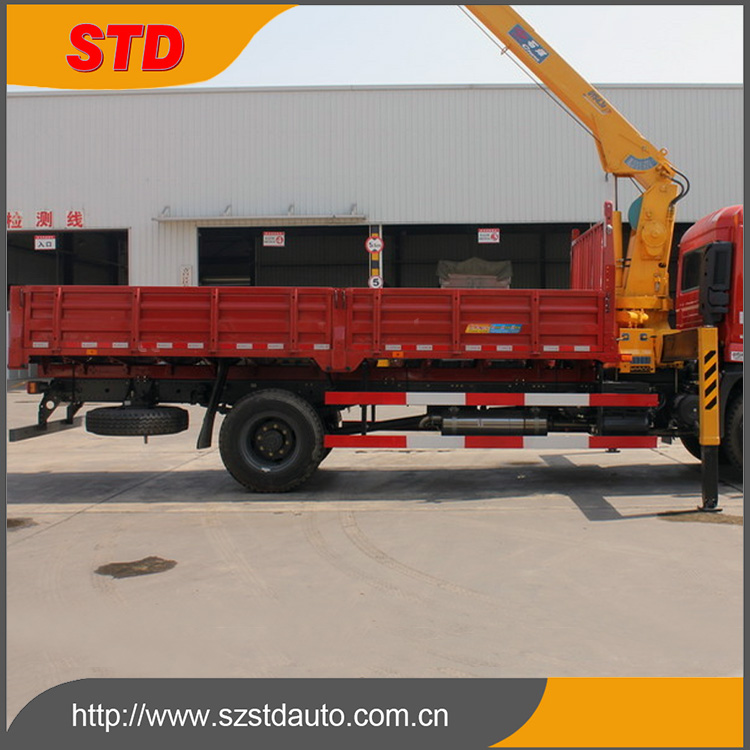 15 tons brand new truck mounted crane