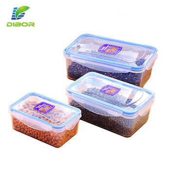 Oem Cheap Bpa Free Small Food Grade Kitchen Plastic Snack Storage