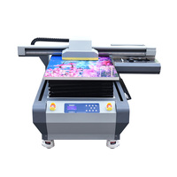 Chinese Factory Hot Sale 6090 uv flatbed printer 3d printing machinery with cheapest price