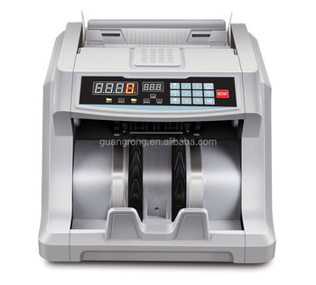 GR-6600 UV/MG Intelligent fake note counterfeit machine with LED Screen