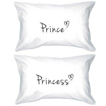 Prens Ve Prenses Yastık Kılıfı 300 Iplik Eşleşen çift Yastık