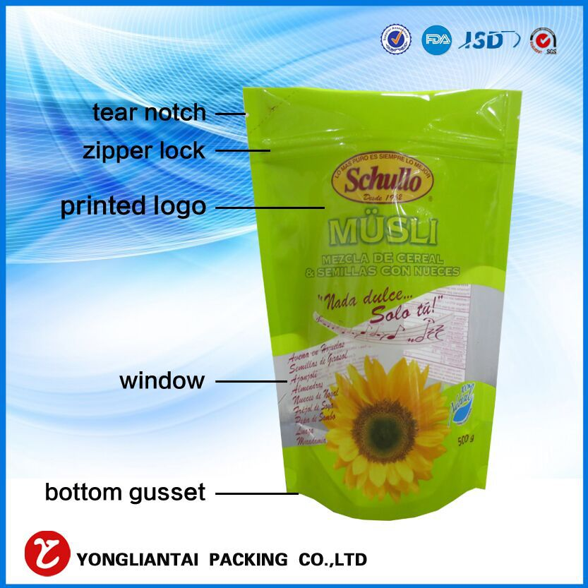 resealable coffee bean bag with valve/coffee packing bags/coffee bag