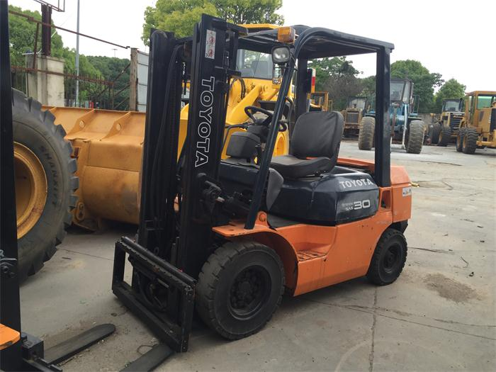 Open Vision Hot Sale Japanese Used Toyota FD30 Forklift 3 ton for Sale