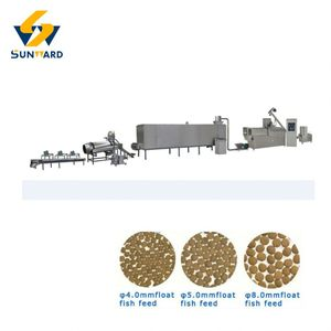 Hot sale & efficient floating fish feed extruder machine