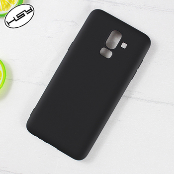 timeless design a53e3 93b11 Huyshe Shockproof Soft Matte Tpu Silicone Phone Back Cover Case For Samsung  Galaxy J8 2018 - Buy Matte Tpu Case For Samsung J8 2018,Silicone Phone ...