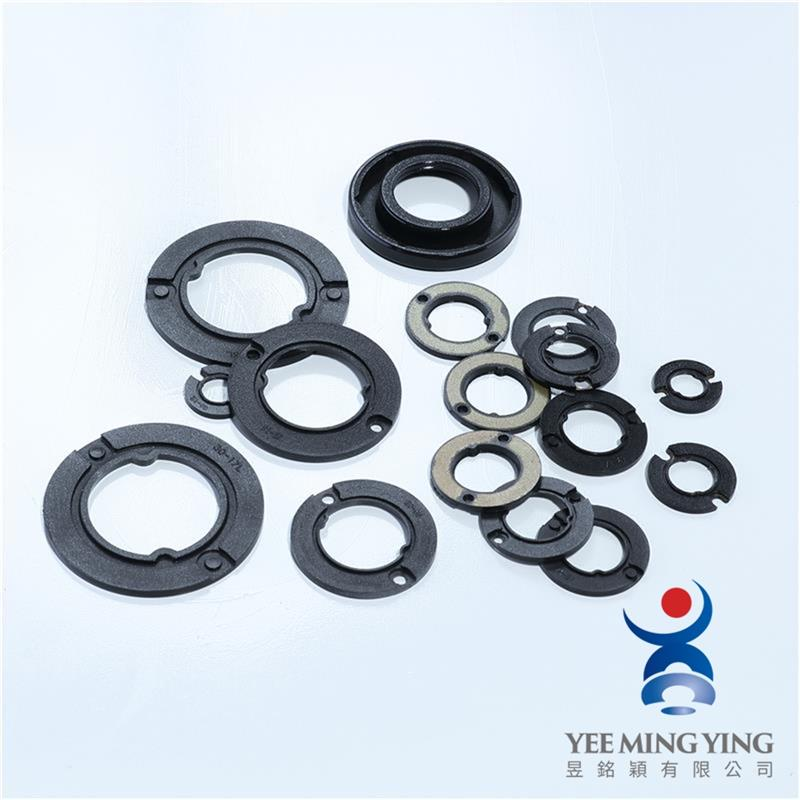 Motorcycle power steering oil seal for rubber parts
