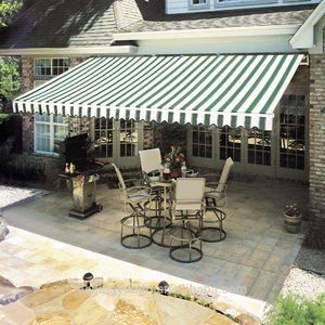 simple operation modern type retractable awnings 5 years warranty