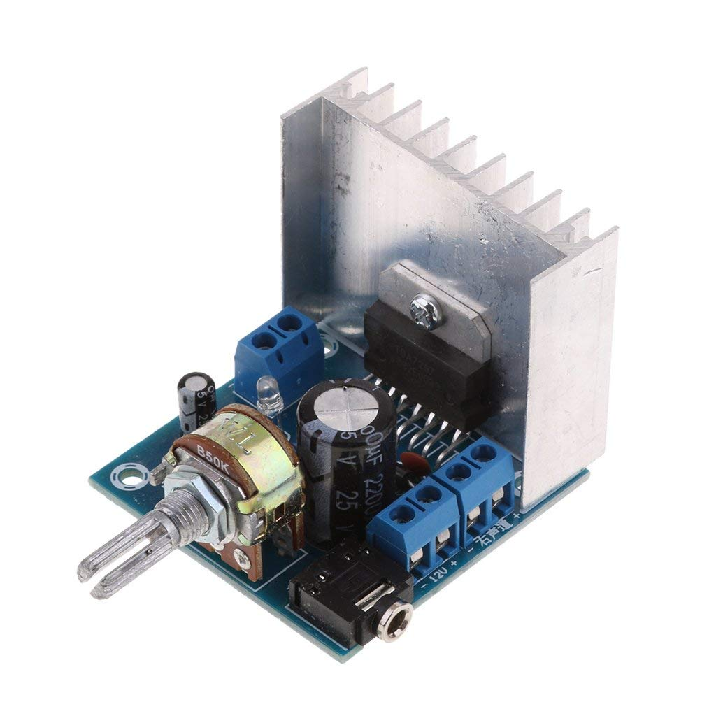 Buy Small Digital Audio Motorcycle Stereo Amplifier 15W+15W