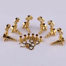 Golden guitar machine headstock Tuners 3R 3L guitar tuning peg