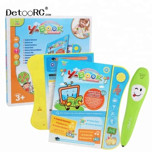 Educational Learning smart pen/ Reading pen for kid/talking pen for kids with cards