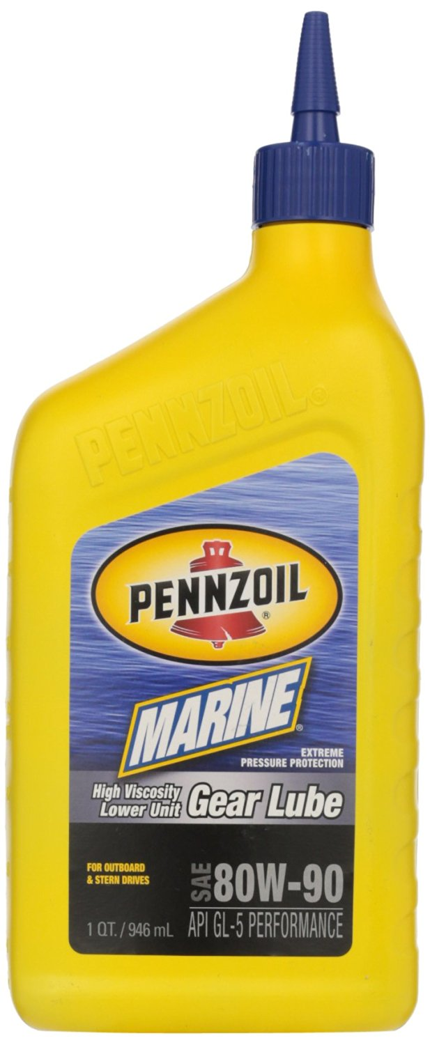 Get Quotations · Pennzoil 4949 High Viscosity Lower Unit Gear Lube, 1  Quart, (Pack of 12