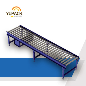 Heavy duty power roller conveyor