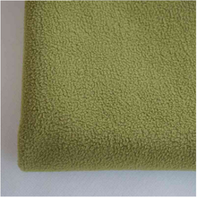TPU Laminated Waterproof Green Bed Sheet Polar Fleece Fabric