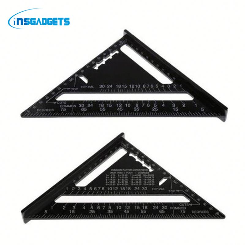 angle measuring ruler Squh0t triangular rule for sale